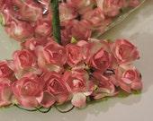 NEW COLOR Fucshia Mini Paper Flowers