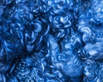 Mohair Curls - Blue Shades