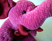 Little Pink Elephant Jim Thompson stuffed plush