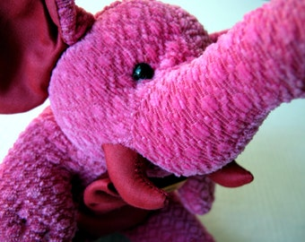 Little Elephant Jim Thompson stuffed plush