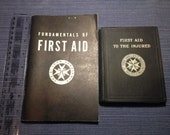 First Aid to the Injured, St. John's Ambulance Association and Fundamentals of FIRST AID first edition soft cover