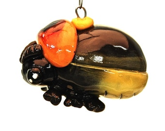 Firefly Lightning Bug Glow in the Dark Christmas Ornament