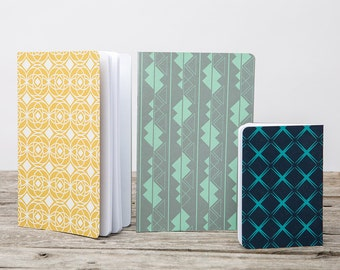 Decorative Patterned Journal Set #2