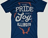 Pride And Joy Of Illinois Chicago Bears T-Shirt