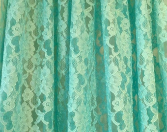 aqua kitchen curtain etsy 87866