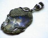 Ethiopian Welo Opal (6.7 Ct.) Pendant in Sterling