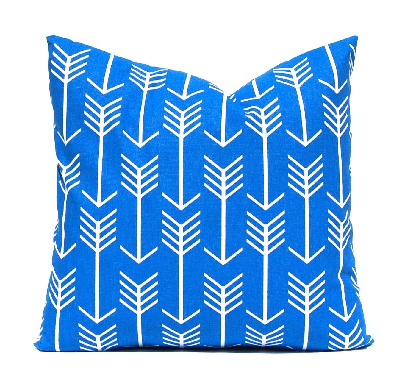 Cobalt Blue Throw Pillow Covers : Cobalt Blue Pillow Covers Royal Blue Pillows by CompanyTwentySix