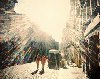 Sunshine Photography, Lomo, Fine Art Print, Lens Flare, Bright, Happy, Cheerful, Colour, Lomography, 35mm