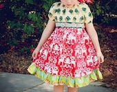 5Y Believe - A Winter dress perfect for Christmas