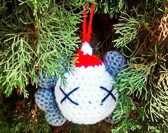 Crochet Kaws Ornament
