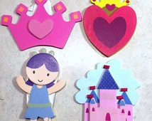 Princess Outlet Socket Covers Baby and Kids Room Decorations