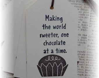Chocolate - Making the World Sweeter -  chocolate tags (6)