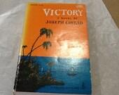 1957 Vintage Victory by Joseph Conrad Edward Gorey Cover Art Doubleday Anchor Book A 106