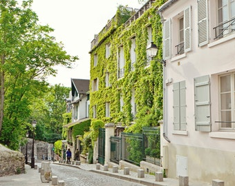 Streets of Paris VI, Montmartre