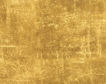 Concrete - Textured Solid in Gold by Sentimental Studios for Moda Fabrics