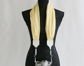 lemoncello scarf camera strap