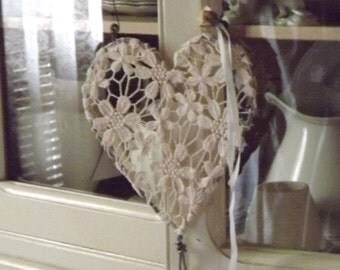 French Nordic Valentine Lace Heart