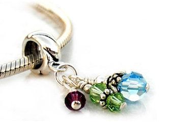 Mothers Jewelry Custom Charm Beads