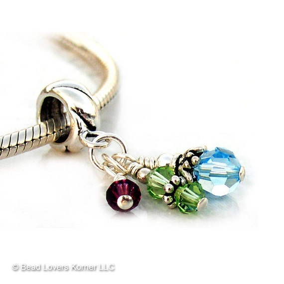 Mothers Jewelry Custom Charm Beads