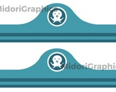 Octonauts Inspired Birthday Party Captain Barnacles Hats - Instant Download