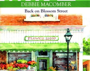 "Knit Along with DEBBIE MACOMBER ""Back on Blossom Street"" 2007 Knitting Patterns & Warm Up America Block Pattern"