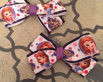 Set of 2 SOFIA Hair Clips - FREE SHIPPING