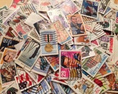 500 Used USA Postage Stamps, off paper, great condition, weddings, projects, destash
