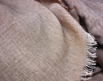 Raw Natural Cotton Fabric~