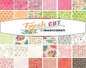 FRESH CUT - Fat Quarter Bundle - by Basic Grey for Moda Fabrics - 40 FQs