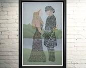 Princess Bride Poster- Movie Quote Art