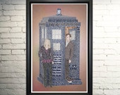 Doctor Who Art Print, The Tenth Doctor, Doctor Who Quotes
