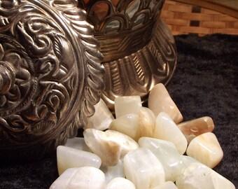 Moonstone Tumbled Gemstone - Balancing, Vision, Rejuvenation, Emotion, Travel Protection