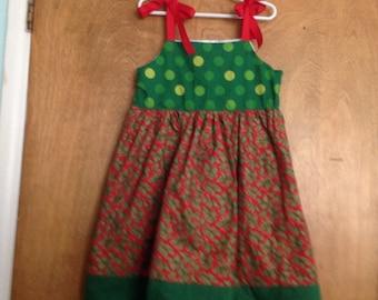 Girls Boutique Dress SAMPLE SALE Christmas size 6