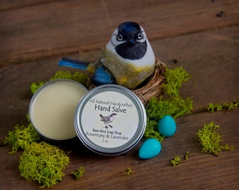 Rosemary & Lavender Hand Salve with Shea Butter