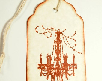 10 Wedding Wish Tags/  Wedding Tags / Best Wishes Tags / Wishing Tree Tags / Tree Wish Tag / Chandelier Tags / Chandelier Gift Tags