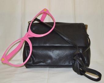 Leather Purse Handbag Crossbody Goth