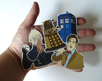 Stickers // Doctor Who