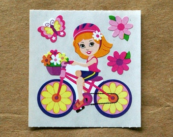 Sandylion Daisy Girl Scratch & Sniff Stickers