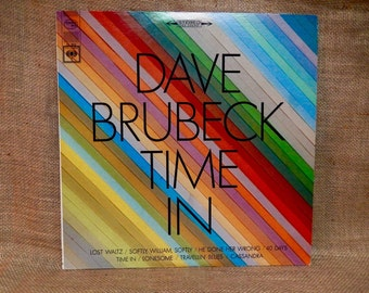Dave Brubeck Quartet - Brubeck Time In - 1966 Vintage Vinyl Record Album