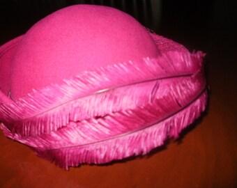 Vintage 1050's Wool Hat by Michael Howard