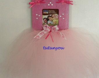 Princess Ballerina Tutu Picture Frame-Pink-Tutu Frame-Ballet-Dance-Frame