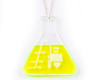 Science Flask Necklace