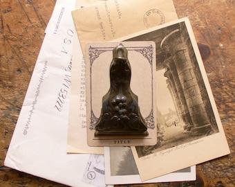 Vintage Art Nouveau Office Spindle Clip for papers