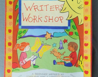 WRITER'S WORKSHOP For Children Ages 7-12 Beginner Writer's Kit By Sally Wattles UNUSED