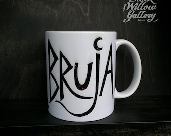 Bruja (Witch) Mug by Lupe Flores
