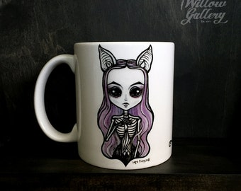 She-Bat  Mug by Lupe Flores