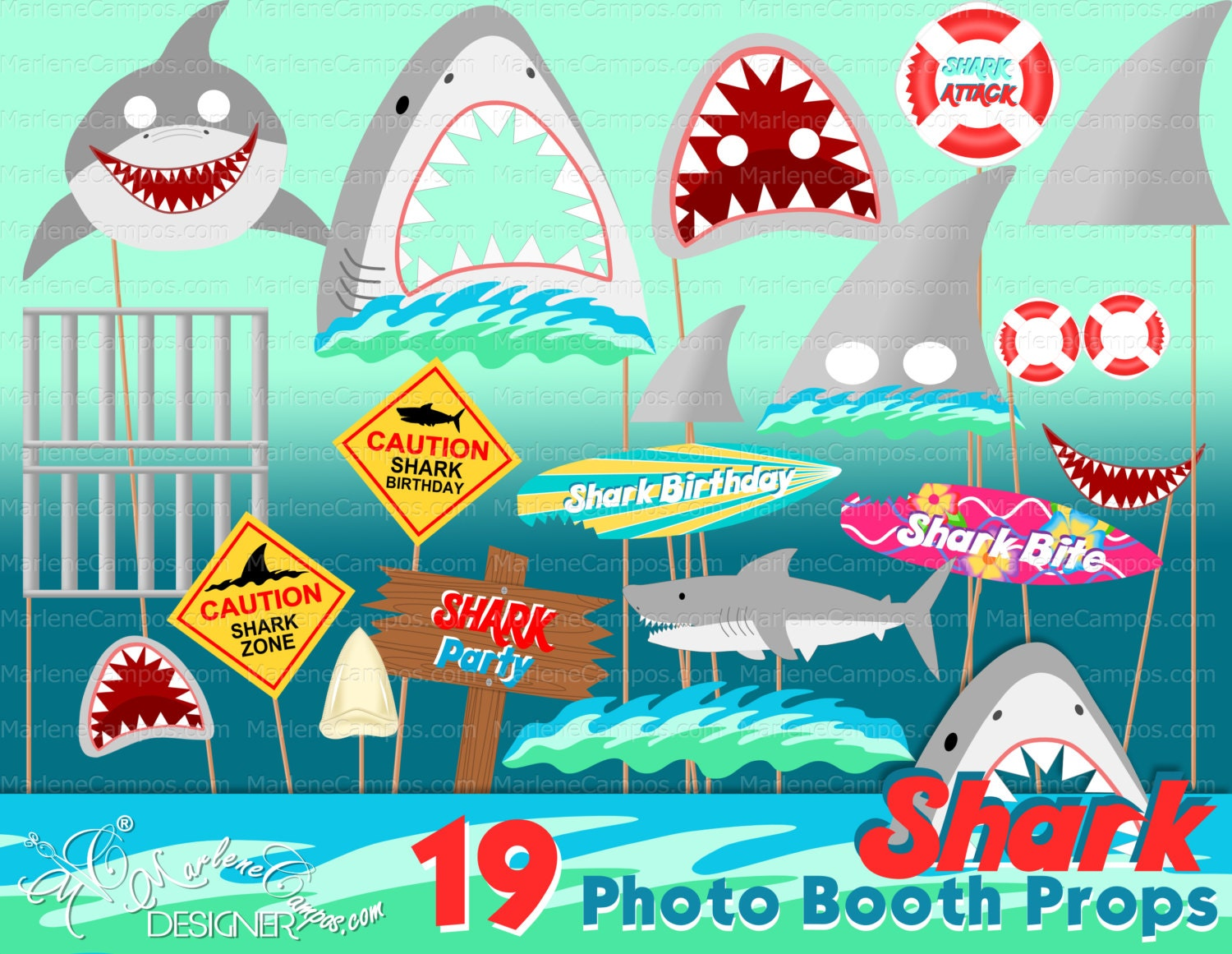 Shark Pool Party Ideas shark party via karas party ideas karaspartyideascom sea shark Shark Photo Booth Props Shark Birthday Party Shark Party Decor Photo Booth Props
