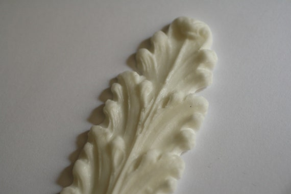 Basket Weaving Supplies Richmond Va : Long acanthus leaf scroll mold for cake decorating