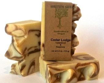 Cedar Lodge - Handcrafted Natural Soap - Mens Soap - Vegan