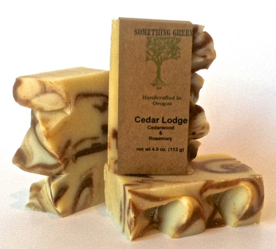 Cedar Lodge - Handcrafted Natural Soap - Mens Soap - Vegan